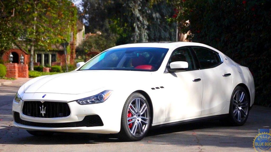 How Much Are Maseratis >> 2015 Maserati Ghibli Review Kelley Blue Book Kickcube