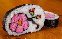 How to Make Flower Sushi Art – Amazing Food Recipe
