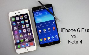 iPhone 6 Plus vs Galaxy Note 4 comparativa a fondo