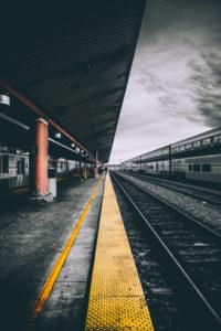 Selective Color Photography of Train Railways img9 200x300
