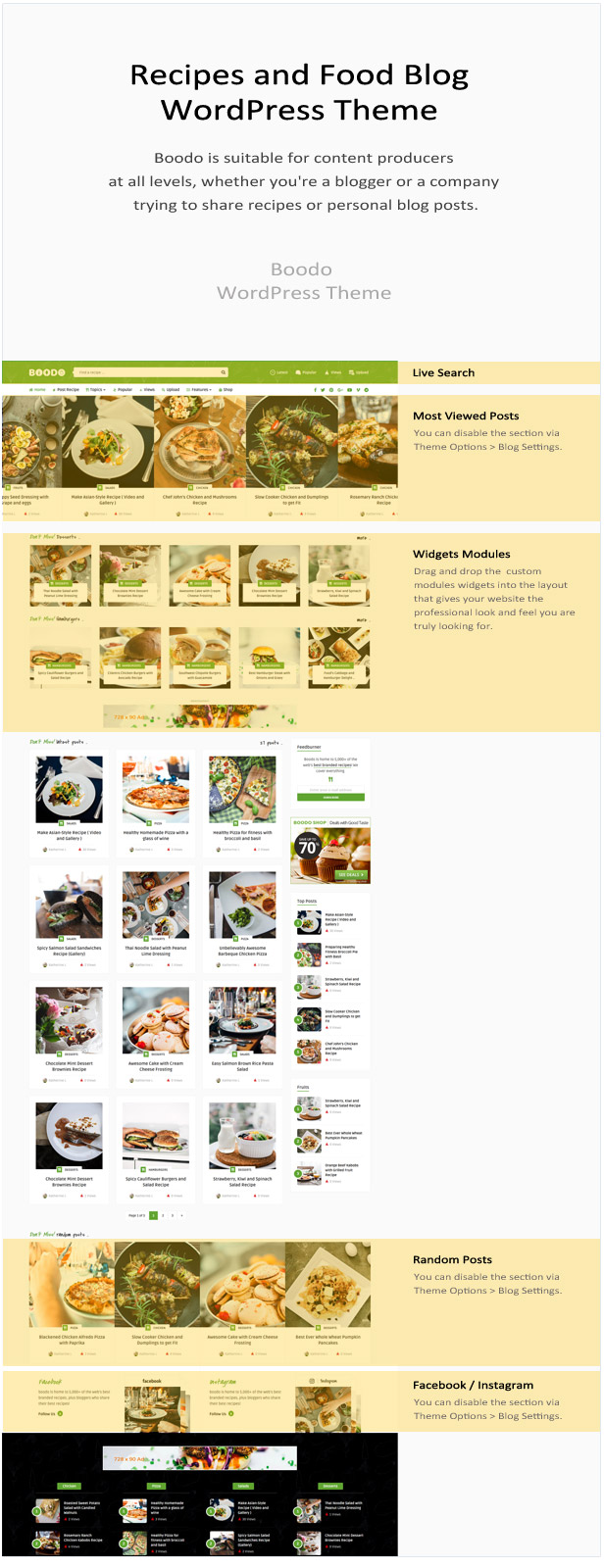 Boodo WP - Food and Magazine Shop WordPress Theme - 2