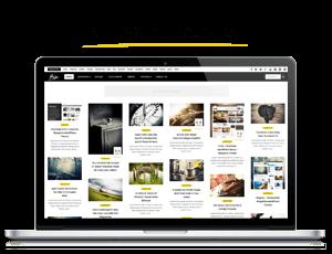 Bou = Masonry Review Magazine Blog WordPress Theme - 1