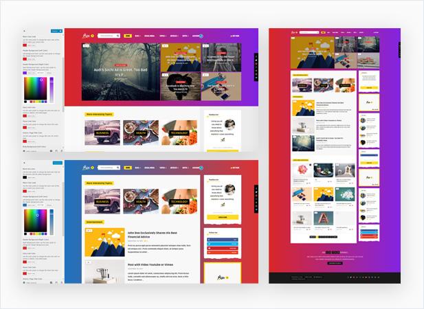 WordPress theme Bouplay WP - A WordPress Theme for Bloggers (News / Editorial)