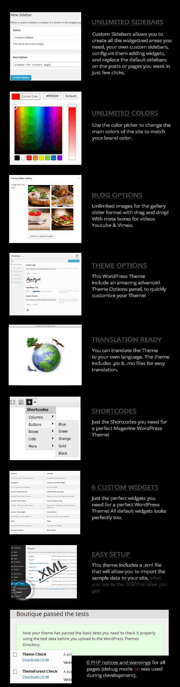 Boutique Grid = Creative Magazine WordPress Theme - 2
