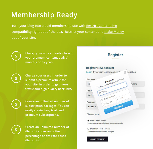 KICKCUBE - Membership & User Content Sharing Theme - 2