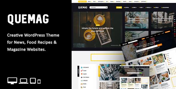 Video News = WordPress Magazine / Newspaper Theme - 1