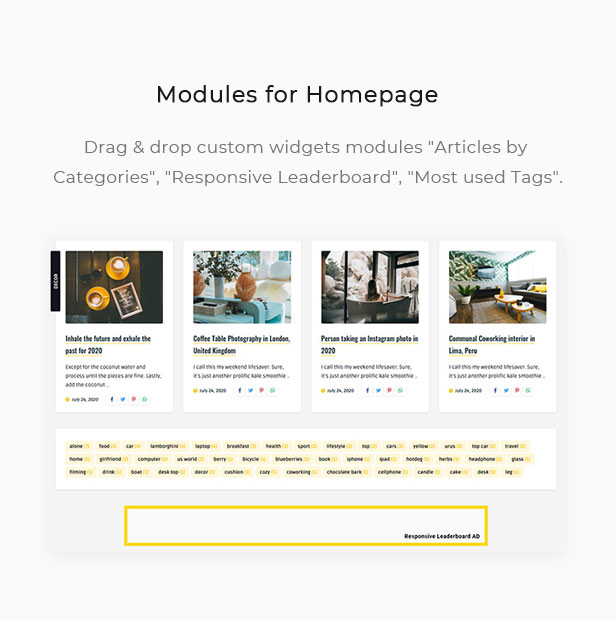 Quemag – Creative WordPress Theme for News & Magazine Websites - 4