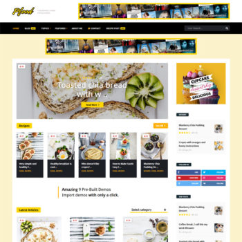 Pfood WordPress Themes