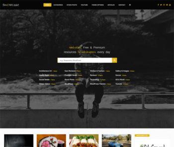 Showcase Photo Photography WordPress Theme