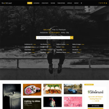 Showcase Photo Photography WordPress Theme