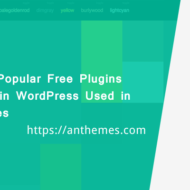 Most Popular Free Plugins For Blogs in WordPress