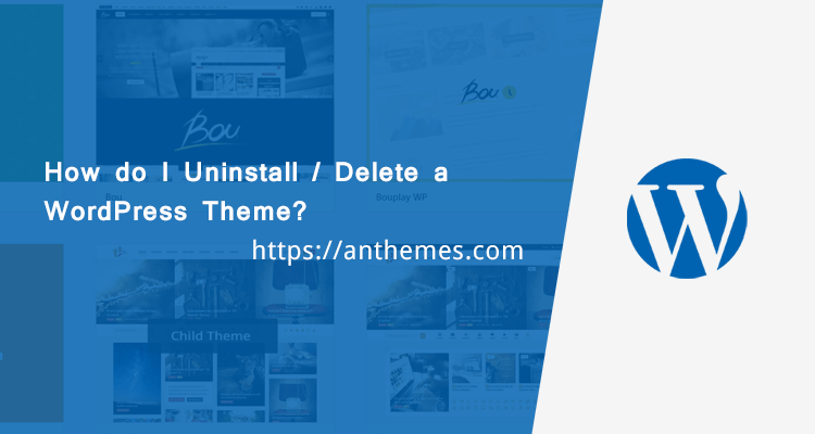 How do I Uninstall / Delete a WordPress Theme?