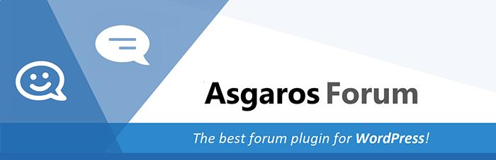 Asgaros Forum wordpress plugin
