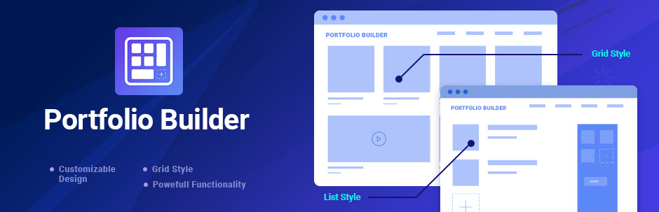 Portfolio Builder wordpress plugin