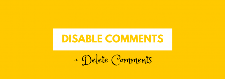 disable comments permanently wordpress