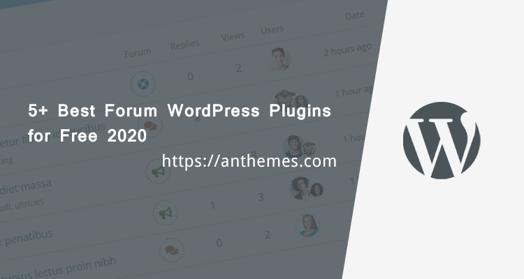 Best Forum WordPress Plugins for Free