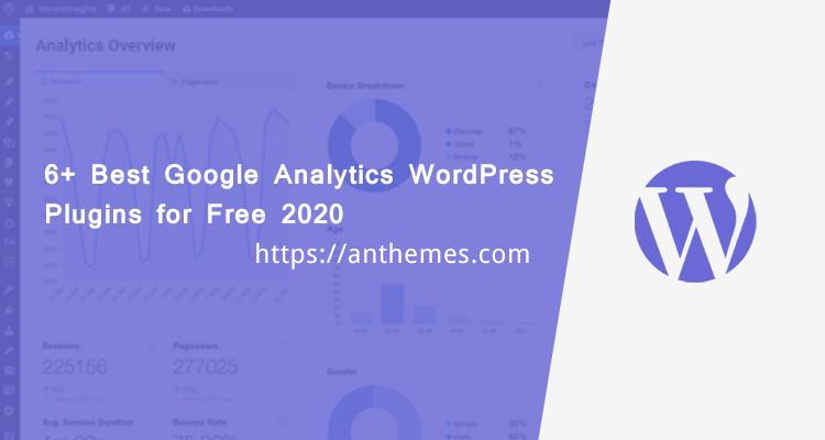 6+ Best Google Analytics WordPress Plugins for Free 2020