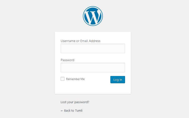 login to wordpress anthemes